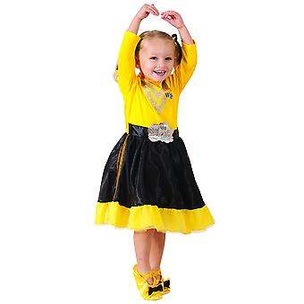 Emma Deluxe Wiggle The Wiggles Book Week Party Dress Up Toddler Girls Costume