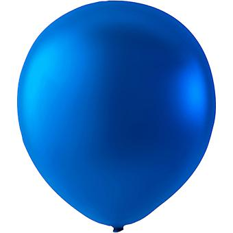 Ballons Latex Blue Metallic - 10-pack | 30 cm (12 pouces)