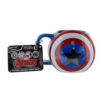 Marvel Avengers Captain America Shield Mug Keramik Multi-Colour