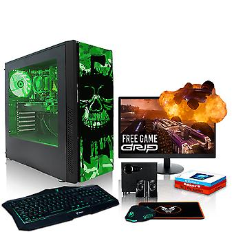 Feroz EXILE PC Gaming, Fast AMD Athlon X4 950 3.8 GHz, 1TB HDD, 16GB de RAM, GTX 1650 4GB
