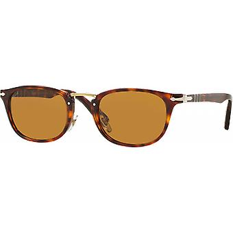 Persol 3127S Medium skrivemaskin Edition tobakk Brown polarisert