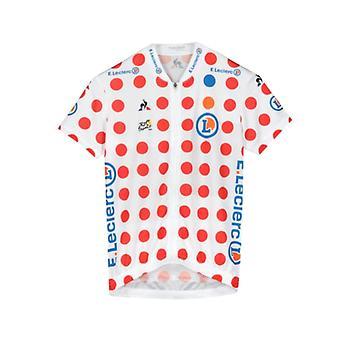 Tour de France Le Coq Sportif Kids Replica King of the Mountains Jersey | Polka | 2019 | 8