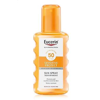 Eucerin Sensitive Protect Sun Spray Transparent SPF50 200ml