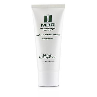 MBR Medical Beauty Research BioChange Anti-Ageing Body Care Cell-Power Foot & Leg Cream 100ml/3.4oz