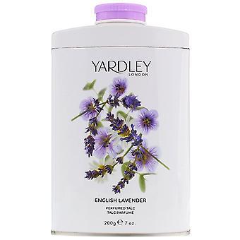 خزامي الإنجليزية لندن Yardley المعطر التلك-200 جرام