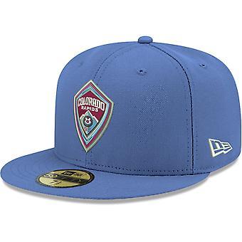 New Era 59Fifty Fitted Cap - MLS Colorado Rapids sky blue