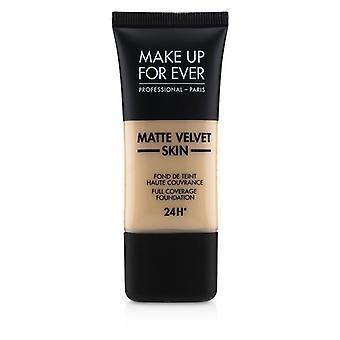 Make Up For Ever Matte Velvet Skin Full Coverage Foundation - # R230 (ivory) - 30ml/1oz