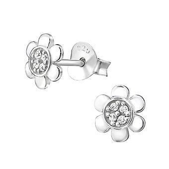 Fiore - 925 Sterling Silver Cubic Zirconia orecchini - W26025X