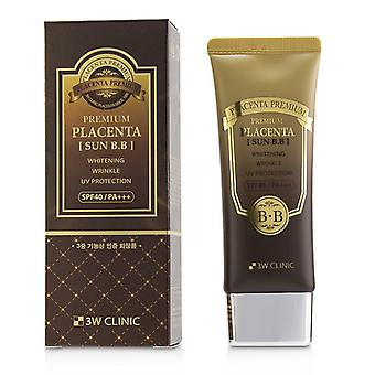 3W Klinik Premium Plazenta Sun BB Cream SPF 40 / PA +++ 70ml/2,3 oz