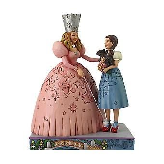 The Wizard of Oz Glinda and Dorothy Ruby Slippers Figurine