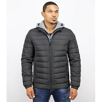 Short Jacket - Casual Jacket - Black