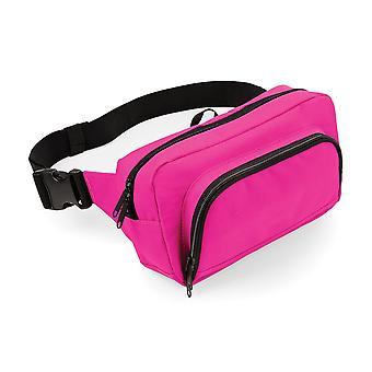 BagBase Organiser Belt / Waistpack Bag (2.5 Litres) (Pack of 2)