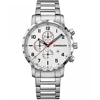 Wenger Men's Watch 01.1543.110 Chronographs