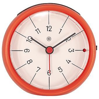 nXt - Alarm clock - Ø 9.5 x 3.8 cm - Orange - 'Otto'
