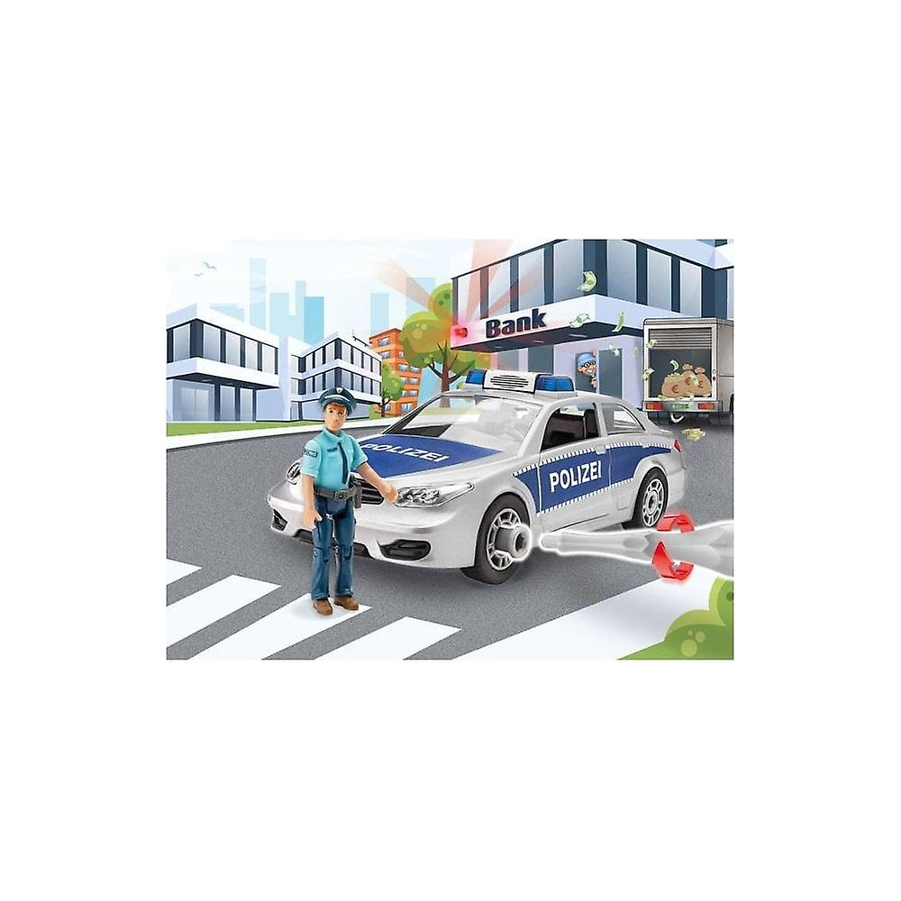 Revell Junior Kit - Police Car 00820  1:20
