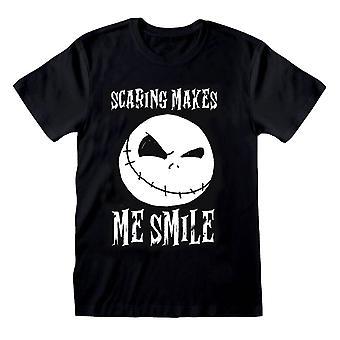 Menn ' s Nightmare før jul Jack skremmer gjør meg smile T-skjorte