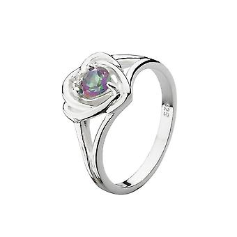 Kit Heath Heritage Heritage Mystic Topaz Thistle Ring 12006MT