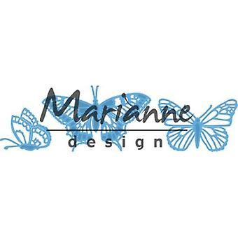 Marianne Design Creatables Tiny'S Butterflies Set Die, 18.5 x 9.4 x 0.2 cm