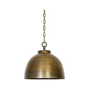 Light & Living CARANDIRA Vintage Cage Tin Lantern Table Lamp
