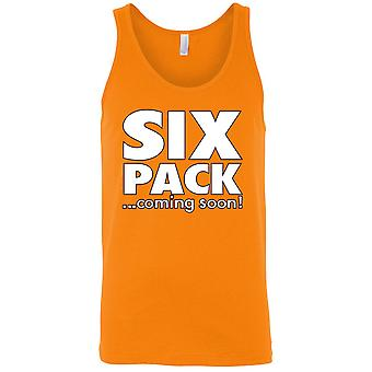 Men's Six Pack ...Coming Soon! Tank Top
