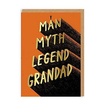 Ohh Deer Legend Grandad Greeting Card