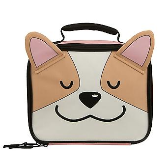 Lunch Bag - Corgi - Happy Face New lx7rkiplw