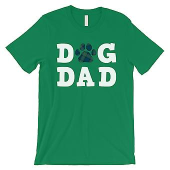 Dog Dad Mens Green Playful New Caring Animal Shirt Gift For Father
