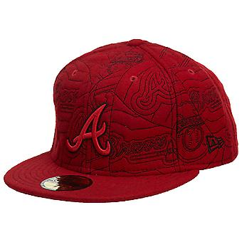 New Era Atlanta Braves Hat équipée Mens Style : Hat608