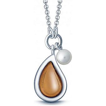 QUINN - Necklace - Silver - Pearl - Moonstone - Freshwater - 27320949
