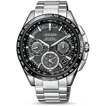 Citizen mens watch eco-drive satellite wave GPS F900 chronograph CC9015-54E