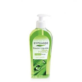Byphasse Hand Soap With Dispenser 400 ml Green garden
