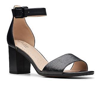 Clarks Deva Mae Womens Heeled Sandal
