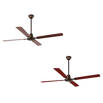 """Ceiling fan Malvinas Brown 140cm / 55"""" with wall switch"""