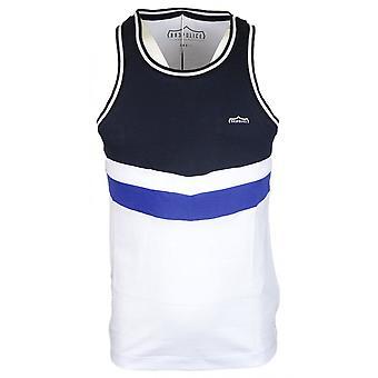 883 politie Harku katoen blauw/wit Vest