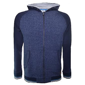 Hugo Boss Boys Hugo Boss Kids Navy Blue Zip Through Hooded Sweatshirt
