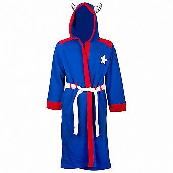 Robe de traje minimalista Capitán América