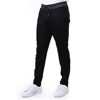 PS Paul Smith Slim Fit Zip Leg Joggers Multistriped Waistband