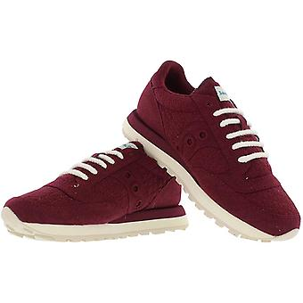 Saucony Womens Jazz Fabric Low Top Lace Up Fashion Sneakers