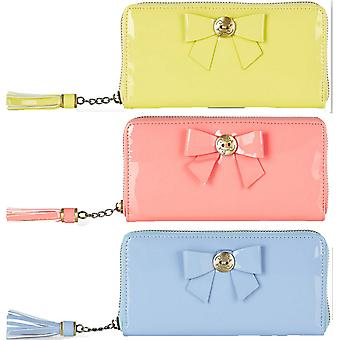 Darling Women's Bow Detail Patent Andi Purse