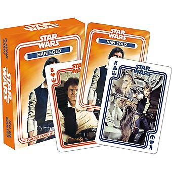 Star wars - han solo playing cards