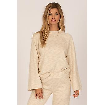Amuse out of office knit pullover - casa blanca