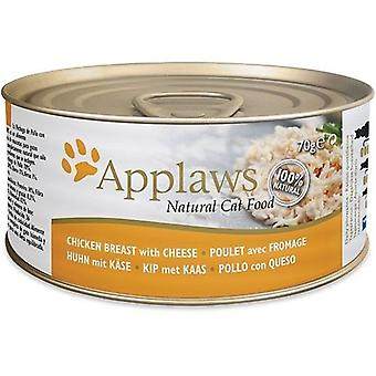 Applaws Tin of Chicken Breast with Cheese for Cats (Cats , Cat Food , Wet Food)