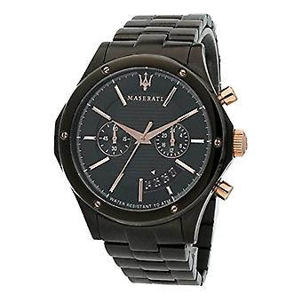 MASERATI watch chronograph quartz men with stainless steel strap R8873627001