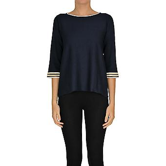 Alessandro Ezgl333016 Women's Blue Viscose Sweater