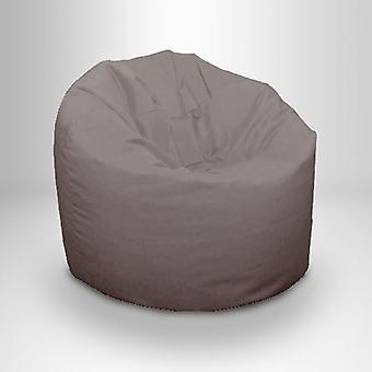 Parvi 25 valmis tasainen sänky lapset & apos;s teini-ikäiset vedenkestävä keskipitkän papu laukku polystyreeni helmiä, tummanharmaa