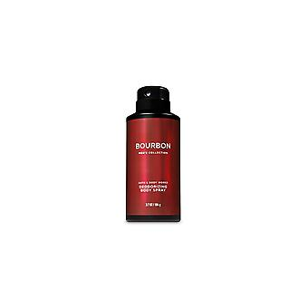 (2 opakowanie) Bath & Body Works Signature Collection Bourbon Deodorizing Body Spray 3.7 oz / 104 g