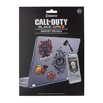 Call of Duty Black Ops 4 Gadget Decalcomanie - Adesivi impermeabili riutilizzabili
