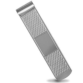 Jewelco London Sterling Silber Diamant Muster Geld Clips