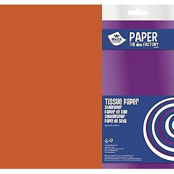 Haza Tissue paper orange 18gr 5SH 50x70cm 185911