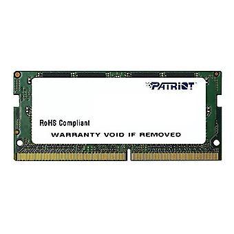 Patriot Signature Line Ddr4 4Gb 2400Mhz Sodimm Non Ecc Unbuffered